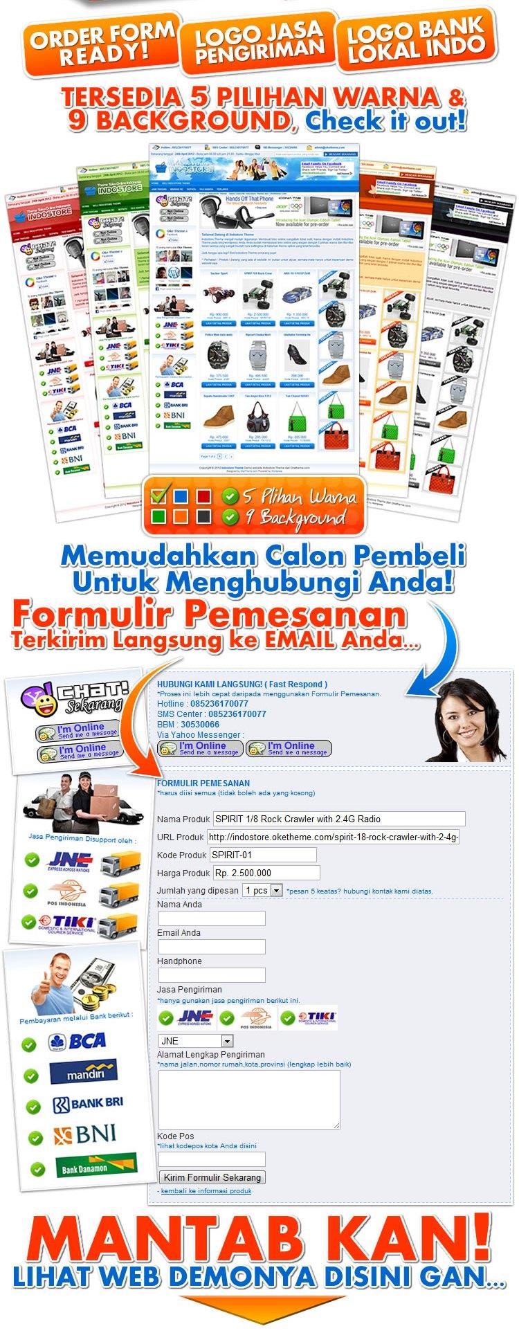 Jasa toko online wordpress murah